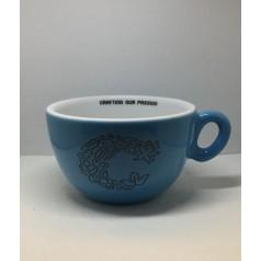 Inker Light Blue Porcelain Cappuccino Luna Cup with Crop logo 170ml